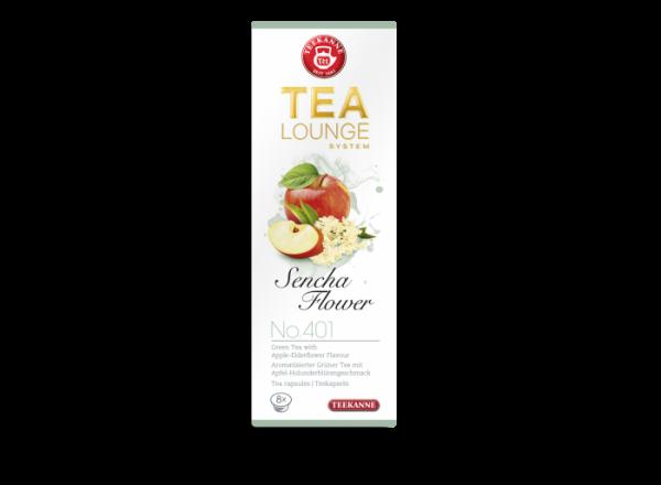 Žalioji arbata kapsulėse TEEKANNE (Sencha Flowers)