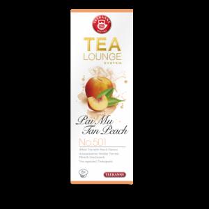 Baltoji arbata kapsulėse TEEKANNE (Pai Mu Tan Peach)