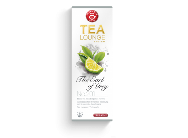 Juodoji arbata kapsulėse TEEKANNE (The Earl of Grey)