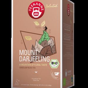 "Juodoji arbata TEEKANNE BIO Luxury Cup ""Mount Darjeeling"" 20 vnt."