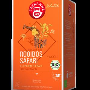 """Raudonoji arbata TEEKANNE BIO Luxury Cup """"Rooibos Safari"""" 20 vnt."""