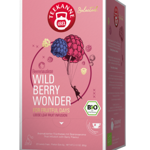 "Vaisinė arbata TEEKANNE BIO Luxury Cup ""Wild Berry Wonder"" 20 vnt."